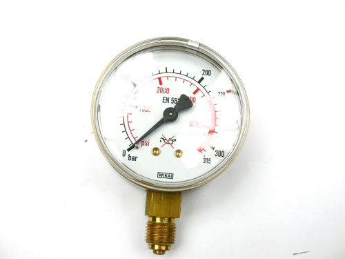 Manometer Ar/CO 2    0 - 200/315 bar