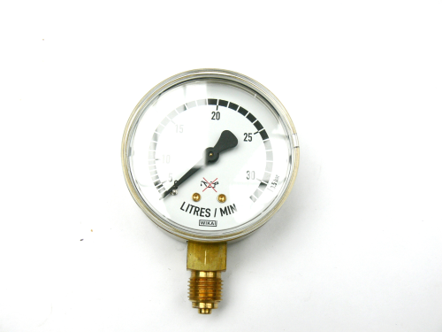 Manometer Ar/CO 2 0-30 l/min